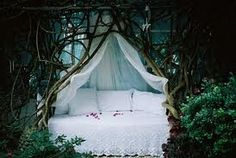 romantic outdoor beds - Google Search