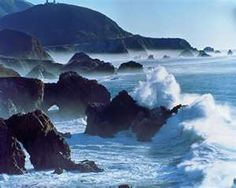 I miss the beaches of my youth.  (Monterey Bay, CA)