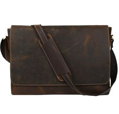 5c9d3f54449 Handmade crazy horse leather briefcase messenger 13