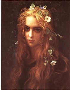 Antoine Auguste Herbert - Ophelia