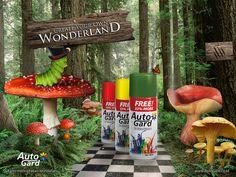 Autogard Print-ads ver Wonderland