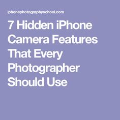 Discover 10 hidden iPhone camera features that will dramatically improve your photos.and give you ultimate control over your iPhone camera. Android Camera, Camera Apps, Iphone Camera, Camera Tricks, Iphone 7 Plus Photography, Mobile Photography, Photography Lessons, Photography Tutorials, Photography School