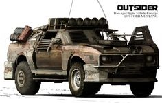 The Outsider. Great for a zombie invasion.