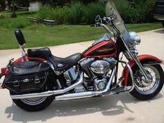 custom paint jobs for harley davidson heritage softail - Google Search