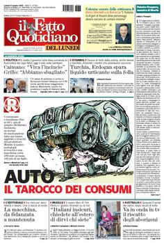 Il Fatto Quotidiano (17-06-13) Italian | True PDF | 24 pages | 12,55 Mb