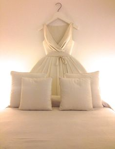"""""""My bed is a dress, a giant Moschino dress!"""" This is what I squealed, tweeted, facebooked and repeated over and over in my head when I checked in to the Maison Moschino Milan. Maison Moschino is ho..."""