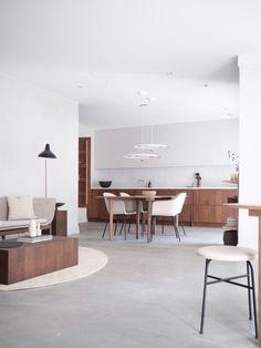 Kitchen, interior and furniture design in Norway Cafe Interior, Kitchen Interior, Interior Styling, Interior Design, Norway House, Best Kitchen Designs, Cuisines Design, New Living Room, Minimalist Kitchen