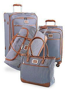 A lot of couples register for luggage- it's perfect for the honeymoon and always something you will use! We love this set from Belk! You can call them today to start your registry by clicking the image link. Image credit: Belk webpage.