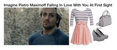 """""""Imagine Pietro Maximoff Falling In Love With You At First Sight"""" by alyssaclair-winchester ❤ liked on Polyvore"""