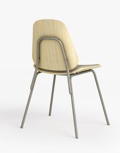 Una reinterpretación de las sillas clasicas de colegio de los años 80 y 90, la silla Col diseñada por Francesc Rifé es una colección de sillas de tubo de acero curvado, recubierto de pintura epoxy, con asiento y respaldo laminado de haya curvado y con posibilidad de tapizado en varios tejidos del catálogo Capdell. Características de
