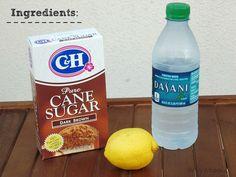DIY Brown Sugar Wax For Sensitive Skin
