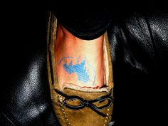 Disney tattoo. I have these shoes in a different shade! I adore them.
