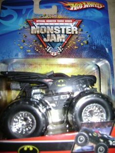 Hot Wheels Batman Monster Jam 2007 1:64 Scale Truck