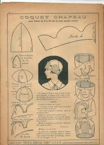 Прикрепленное изображение Hat Patterns To Sew, Vintage Sewing Patterns, Clothing Patterns, Diy Vintage, Looks Vintage, Turban Hut, Costume Carnaval, 1920s Hats, Hat Tutorial
