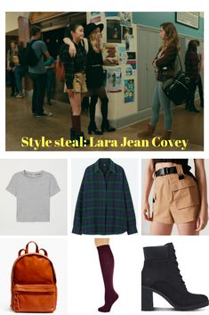 Steal Lara Jean Coveys perfect fall outfit for cheap! Source by lhanslbauer tween outfits casual Neue Outfits, Edgy Outfits, Outfits For Teens, Fall Outfits, Summer Outfits, Fashion Outfits, Fashion Trends, Lara Jean, Tv Show Outfits