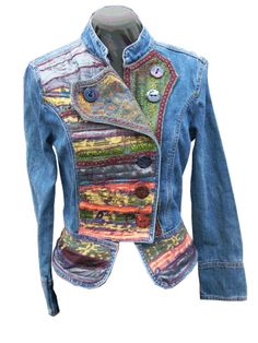 Embellished jacket-design is right with the right colors & embellishments would be great