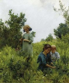 peinture de C Courtney Curran