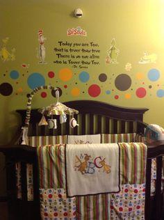 My daughters Dr Seuss nursery