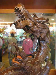 Dragon Themed Item-Chocolate Sculpture