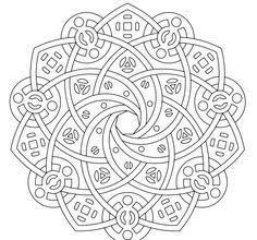 Mandala Coloring Pages: Pattern Coloring Pages, Mandala Coloring Pages, Coloring Book Pages, Printable Coloring Pages, Coloring Sheets, Mandala Pattern, Zentangle Patterns, Zentangles, Mandala Doodle