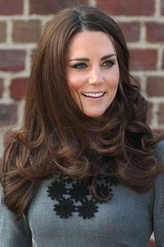 Kate's best look is understated volume and barrel-curled ends #katemiddleton #royals #hair