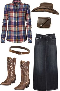 """modest cowgirl style"" by emilymusic94 ❤ liked on Polyvore"