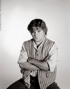 Samwise Gamgee, portrayed by Sean Astin.  Just for you, Tana.  (P.S. He's 41.)