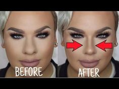 How to Make Your Nose Look Smaller With Makeup & Face Exercises