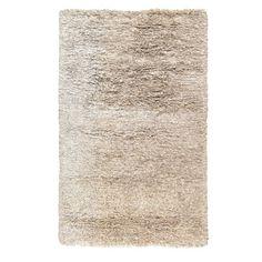 Kosas Home Elegante Light Grey Shag Area Rug & Reviews | Wayfair