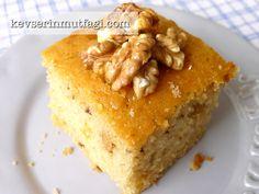 Ballı Cevizli Kek Tarifi Nasıl Yapılır? Kevserin Mutfağından Resimli Ballı Cevizli Kek tarifinin püf noktaları, ayrıntılı anlatımı, en kolay ve pratik yapılışı.