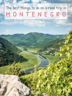 My ABC of the coolest things to do on a road trip in Montenegro