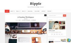 Ripple Blogger Template | Blogger Templates Gallery