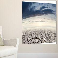 DesignArt 'Dry Soil Dreamscape' Photographic Print on Wrapped Canvas Size:
