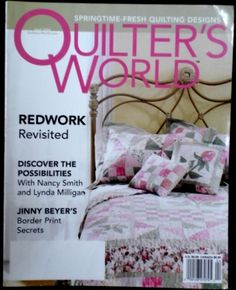 Quilter's Quilters World Magazine 2004 April