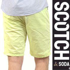 SCOTCH(スコッチアンドソーダ) ショーツ ライムイエロー SC81105-31 Col.19 sho-sc-098