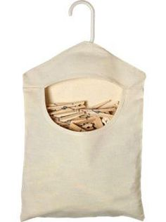 Canvas Clothespin Bag $7.95 at the Vermont Country Store