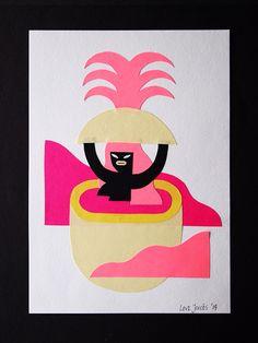 Juxtapoz Magazine - Levi Jacobs' Graphic Beauties
