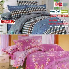 Browse Through The Best Online Deals And Enjoy Free Shipping. Now,  Homeshop18 Is Offering Exclusive Cotton Double Bed Sheet.