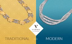 Which type of #jewelry would you choose for your #wedding? (Modern or Traditional) Visit www.vamira.in or book your #personal #appointment now! Call us on +91 99941 82700 +91 99417 11355 or write to us at hello@vamira.in :)