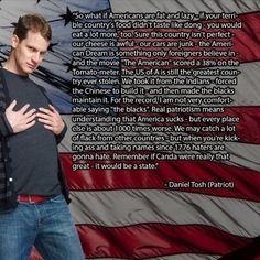 Daniel Tosh. Freedom. Understanding our America.