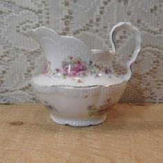Bararin porcelain creamer / small pitcher / gold trim