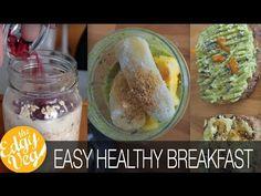 3 Healthy Easy Breakfasts VEGAN w/ Anthony Deluca | The Edgy Veg