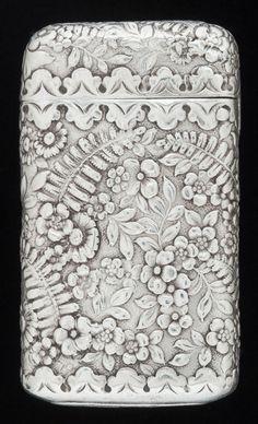 Silver Smalls:Match Safes, AN AMERICAN SILVER MATCH SAFE, Tiffany & Co., New York, NewYork, circa 1900. Marks: TIFFANY & CO., STERLI...