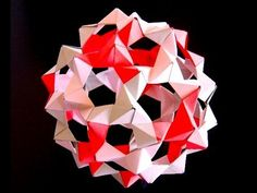 """Instruction on how to make """"buckyballs"""" (dodecahedron, truncated icosahedron) from """"PHiZZ"""" units. http://www.merrimack.edu/~thull/phzig/phzig.html For what i..."""