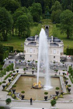 Linderhof Palace,my favorite of King Ludwigs castles.
