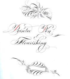 Calligraphy I Bill Kemp Hindi Calligraphy, Flourish Calligraphy, Calligraphy Doodles, Calligraphy Drawing, Copperplate Calligraphy, Calligraphy Practice, How To Write Calligraphy, Calligraphy Letters, Penmanship