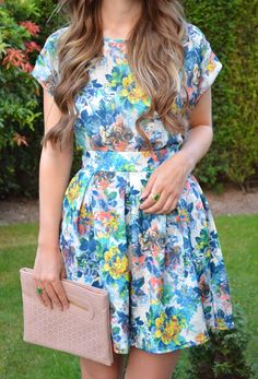 Danielle Kimberley wearing our Closet Floral Coord.