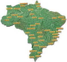 localização populacional indigenas Brasil - Pesquisa Google
