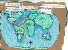 Have students make a map of the voyages of different European explorers.