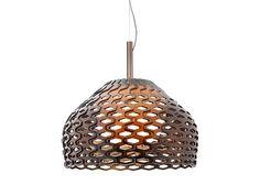 Lámpara colgante de policarbonato TATOU S2 by FLOS diseño Patricia Urquiola